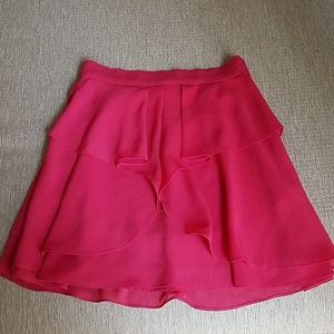 BCBGeneration Red Skirt, Size 2